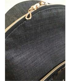 "Фото 5. Рюкзак женский с пайетками Centrum ""Хамелеон"" темно-серый"