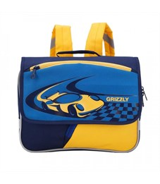 RK-997-1 рюкзак детский (/1 т.синий - синий - желтый)