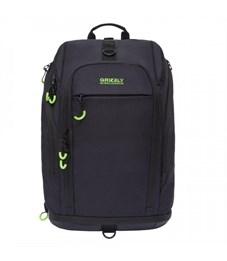 RQ-906-1 Рюкзак (/2 черный - салатовый)