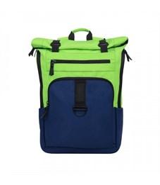RQ-909-1 Рюкзак (/4 салатовый - синий)