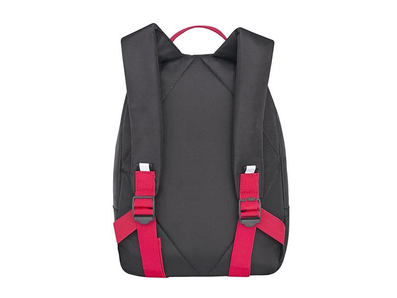 RS-734-1 Рюкзак дошкольный Grizzly черный-красный
