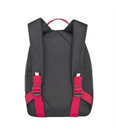 Фото 3. RS-734-1 Рюкзак дошкольный Grizzly черный-красный