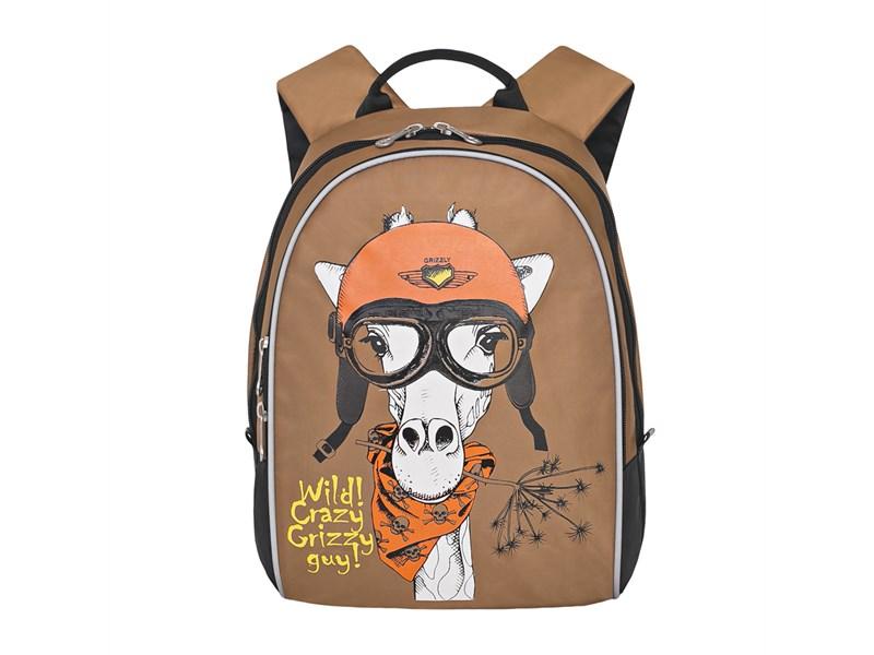 RS-734-2 Рюкзак дошкольный Grizzly бежевый