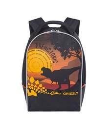 RS-734-6 Рюкзак детский Grizzly черный