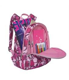 Фото 4. RS-764-3 Рюкзак дошкольный Grizzly сердечки розовые