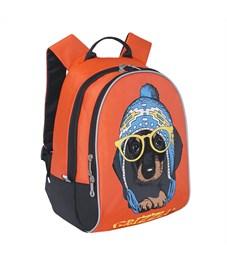 Фото 2. RS-764-4 Рюкзак детский Grizzly оранжевый