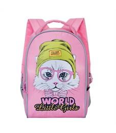 RS-764-5 Рюкзак дошкольный Grizzly розовый