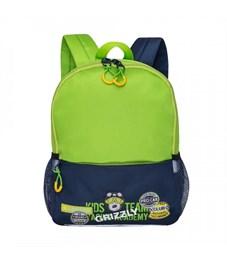 RS-890-1 рюкзак детский (/1 салатовый - синий)