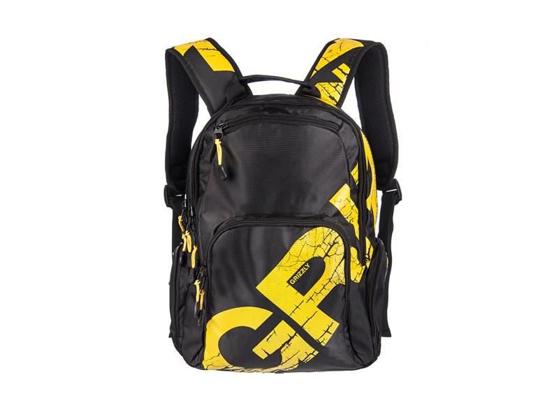 RU-423-1 Рюкзак Grizzly желтый
