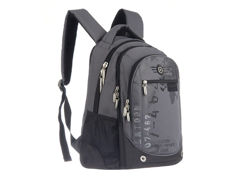 RU-501-1 Рюкзак Grizzly серый