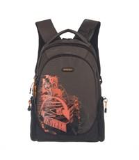 RU-528-3 Рюкзак Grizzly коричневый-оранжевый