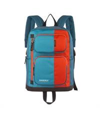 RU-619-1 Рюкзак оранжевый - голубой - синий
