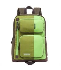 RU-619-1 Рюкзак Grizzly салатовый - зеленый - хаки