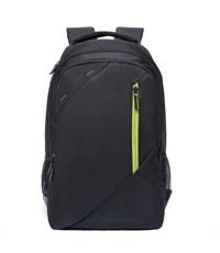 RU-700-3 Рюкзак Grizzly черный-салатовый