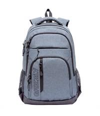 RU-700-5 Рюкзак школьный Grizzly темно-серый