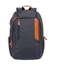 RU-700-6 Рюкзак черный - кирпичный