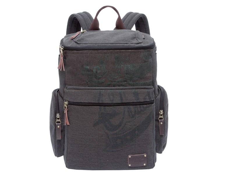RU-702-1 Рюкзак Grizzly серо-коричневый