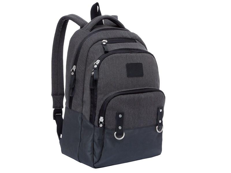 RU-703-1 Рюкзак Grizzly черный