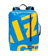 RU-705-1 Рюкзак школьный Grizzly голубой