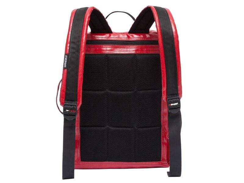 RU-705-1 Рюкзак школьный Grizzly красный