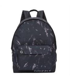 RU-709-3 Рюкзак школьный Grizzly песочные разводы