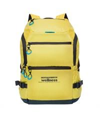 RU-710-2 Рюкзак школьный Grizzly желтый