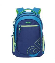 RU-711-2 Рюкзак Grizzly темно-синий - синий