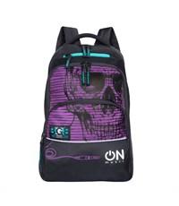 RU-715-2 Рюкзак школьный Grizzly Фиолетовый