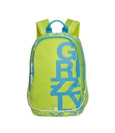 RU-724-1 Рюкзак школьный Grizzly салатовый