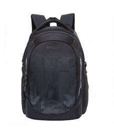 RU-802-1 Рюкзак Grizzly молодежный (/4 черный)