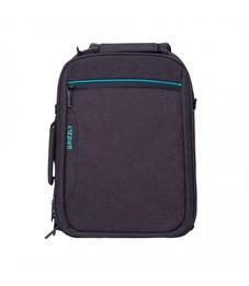 RU-805-1 Рюкзак (/1 черный - бирюзовый)
