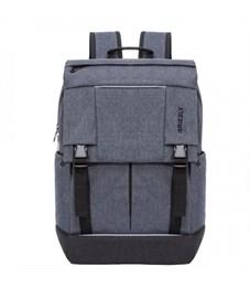RU-810-1 Рюкзак молодежный Grizzly (/1 серый - черный)