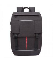 RU-810-1 Рюкзак молодежный Grizzly (/3 черный - красный)