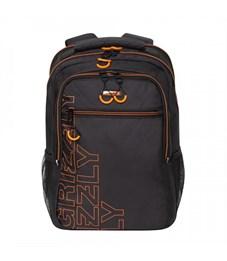 RU-922-2 Рюкзак (/3 черный - оранжевый)