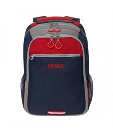 RU-922-3 Рюкзак (/2 синий - красный)