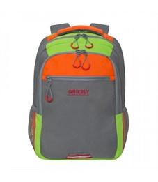 RU-922-3 Рюкзак (/4 серый - оранжевый)