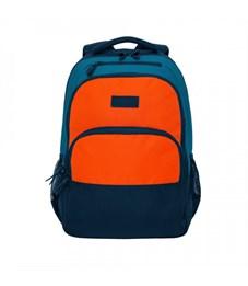 RU-924-2 Рюкзак (/1 синий - оранжевый)