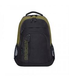RU-925-1 Рюкзак Grizzly черный хаки