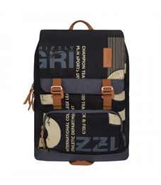 RU-929-1 Рюкзак (/2 черный - серый)
