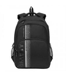 RU-934-5 Рюкзак (/4 черный - серый)