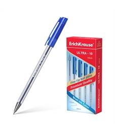 Ручка шариковая Erich Krause Ultra-10 0.7 мм, синий
