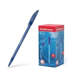 Ручка шариковая Erich Krause R-101 1 мм, синий