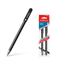 Ручка гелевая Erich Krause G-Soft, черная, 0,38 мм