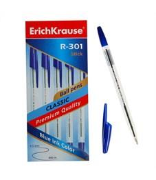 Фото 2. Ручка шариковая Erich Krause R-301 Classic синий 1.0 мм
