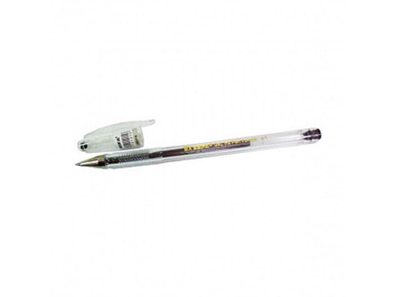 Ручка гелевая BEIFA 1001XGF/5, 0,5 мм, черная