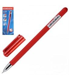 Ручка гелевая Erich Krause G-Soft, красная, 0,38 мм
