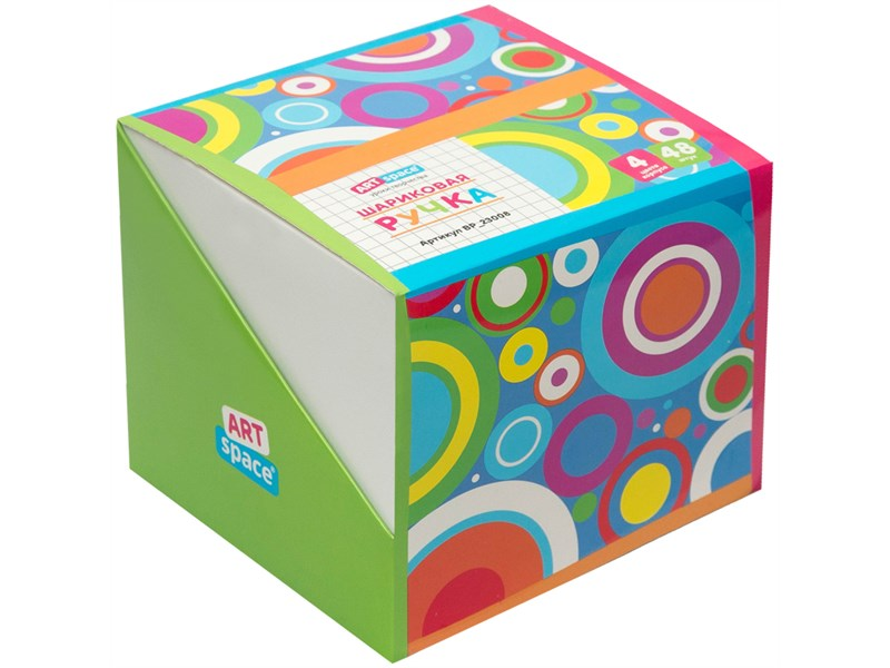 """Ручка шариковая автоматическая ArtSpace """"Mini"""" синяя, 0,7мм, грип, ассорти, штрихкод"""