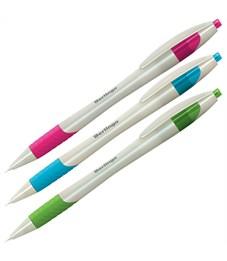 """Ручка шариковая автоматическая Berlingo """"Perlamutik XL"""" синяя, 0,7мм, грип"""