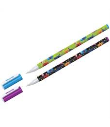 "Ручка шариковая Berlingo ""Funline. Monsters"", синяя, 0,7мм, рисунок на корпусе, ассорти"