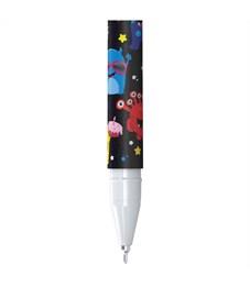 "Фото 2. Ручка шариковая Berlingo ""Funline. Monsters"", синяя, 0,7мм, рисунок на корпусе"